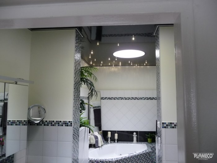 Plafond badkamer vernieuwen/installeren