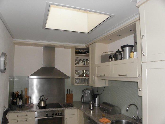 plafond keuken