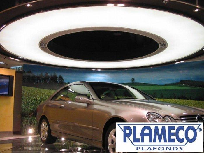 plafond showroom praktijkruimte